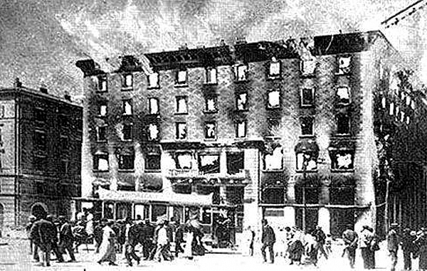 """Narodni dom so požgali fašisti ali jugoslovanski teroristi?"""
