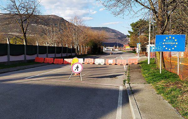Dvolastnikom omogočen prehod slovensko-italijanske meje za nujna kmetijska opravila
