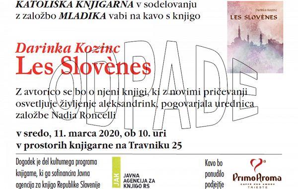 Gorica / Odpade kava s knjigo v Katoliški knjigarni