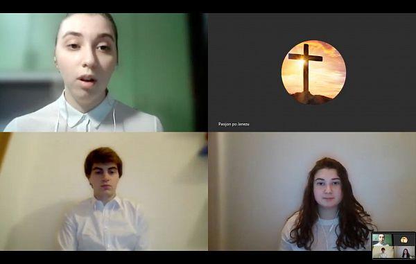 Pasijon po Mateju in Janezu na spletu