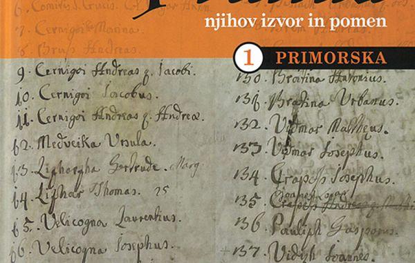 Tino Mamić: Priimki, njihov izvor in pomen