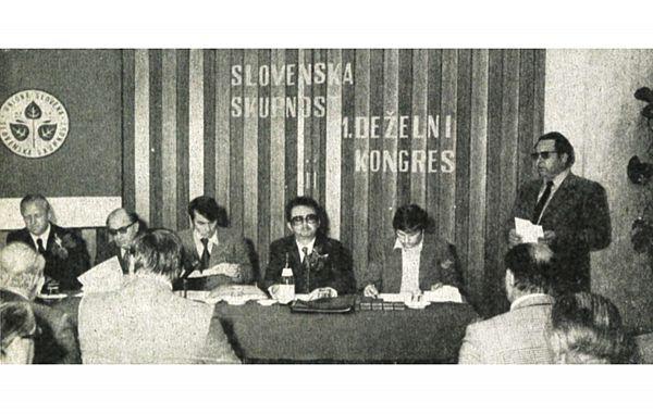 45-let stranke Slovenska skupnost – zbirne stranke Slovencev v Italiji