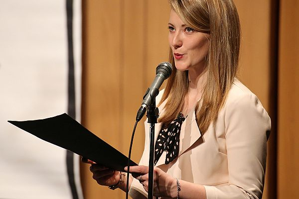 Predsednica PD Vrh Sv. Mihaela Karen Ulian