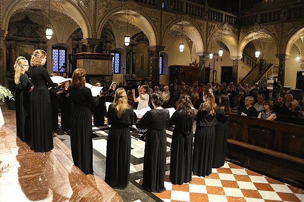 Gorica / Koncert ob koncu tečaja gregorijanskega korala