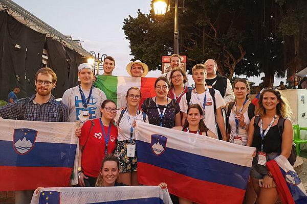 Srečanje s skupino mladih iz Slovenije