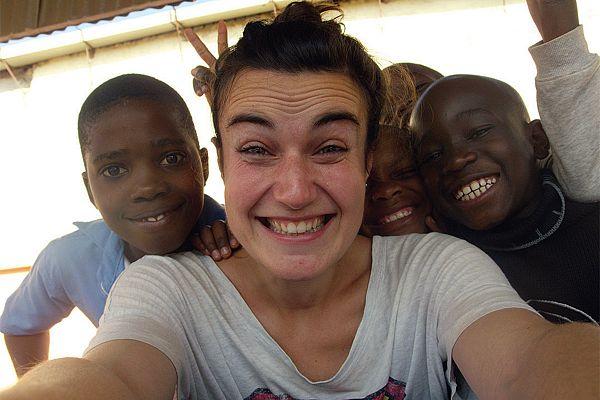Lucrezia Bogaro v Mozambiku