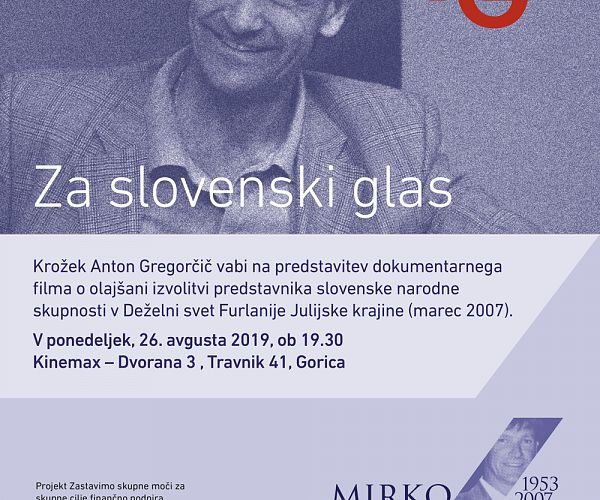 Za slovenski glas