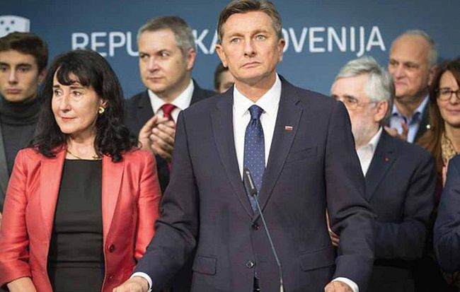 Borut Pahor ponovno izvoljen za predsednika Slovenije!