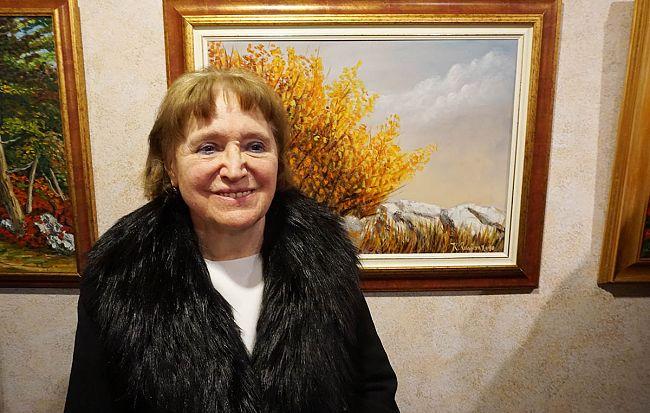 Karmela Rusjan zaupa barvam svojo slikarsko pripoved