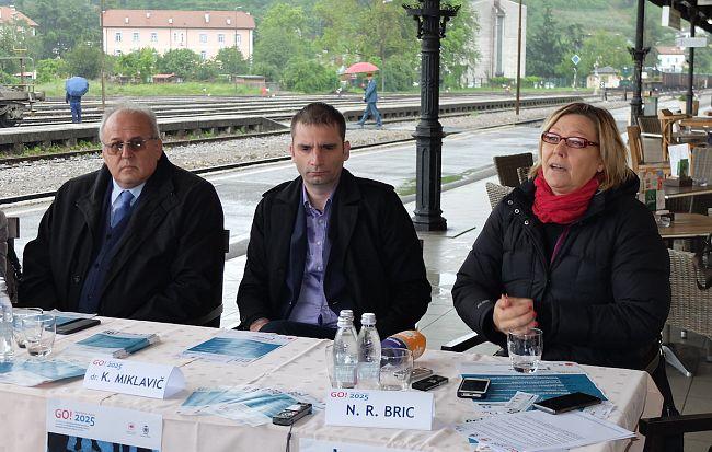 Podpis sporazuma o kandidaturi dveh Goric za EPK 2025